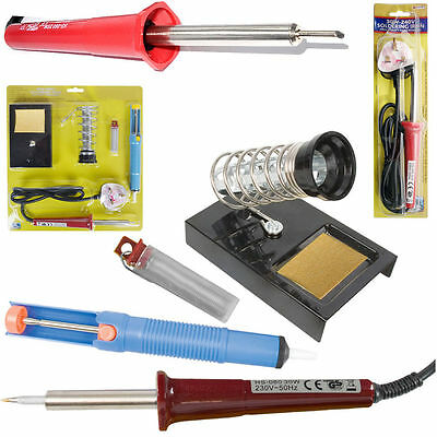 30W - 60W Electric Soldering Iron Solder Gun Kit Desolder Lead Wire Pump