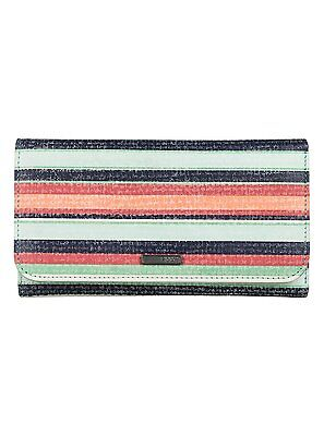 New Roxy Womens My Long Eyes Faux Leather Card/coin Purse/wallet 6S/3069/btc6