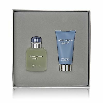 D&G Dolce & Gabbana LIGHT BLUE Homme Set - Eau de Toilette 75ml + After Shave Ba