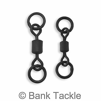 Chod Swivels Double Ring Helicopter Rig Swivels Size 8 and 11 Carp Tackle
