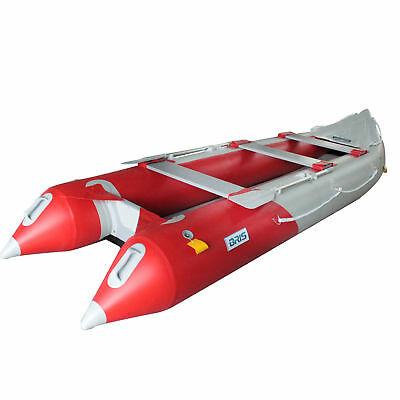 4.3M Inflatable Kayak Inflatable Boat Fishing Tender Poonton Boat With Airfloor