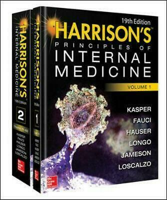 Harrison's Principles of Internal Medicine 19th Edition by Joseph Loscalzo Hardc
