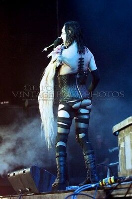 Marilyn Manson Poster Photo 20x30 inch 2001 Ozzfest Columbus OH Live Concert L25