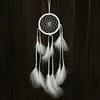 Handmade Dream Catcher With feathers Hanging Decoration Ornament Craft Gift New