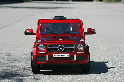 Mercedes Benz G65 AMG Kids Ride on Battery Powered Electric Car