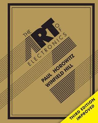 The Art of Electronics by Paul Horowitz Hardcover Book (English)