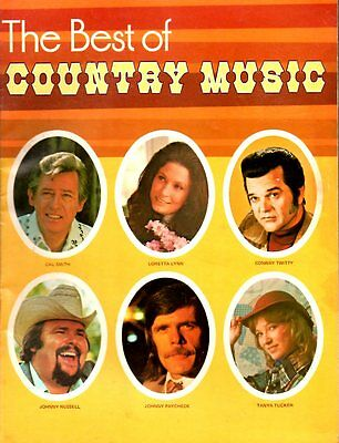 THE BEST OF COUNTRY MUSIC Road Show Concert Tour Program #2