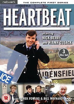 Heartbeat - Complete Series 1 NEW PAL 3-DVD Set Berry