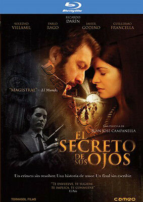 Secret in Their Eyes NEW Arthouse Blu-Ray Disc Juan José Campanella Argentina