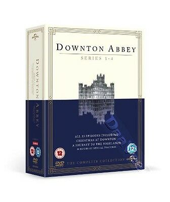 Downton Abbey - Complete Collection (Series 1-4) NEW PAL Cult 15-DVD Set Dockery