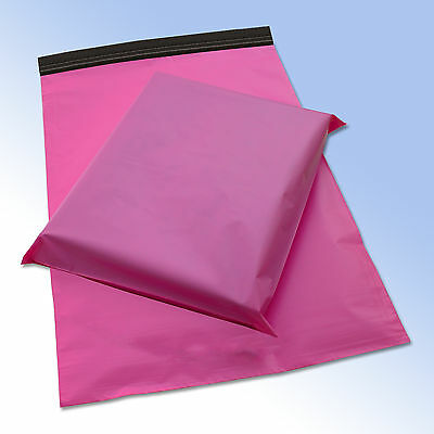 50 Mixed Pack PINK Plastik Post Post Beutel