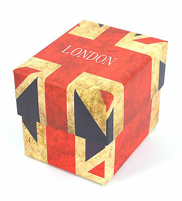 Empty Union Jack Gift Box London For Watches Bracelets Jewellery Feel Expensive