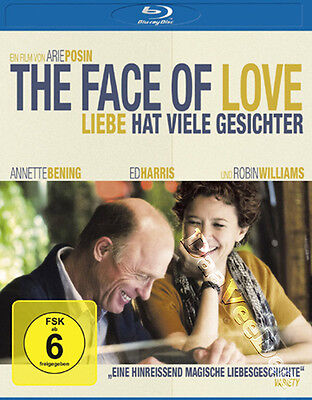 The Face of Love NEW Cult Blu-Ray Disc A. Posin A. Bening Ed Harris R. Williams