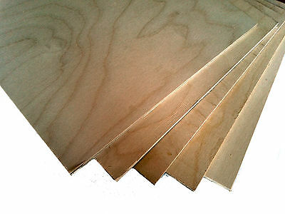 3mm Plywood Sheets, Pack of 4 in a selection of Sizes ..