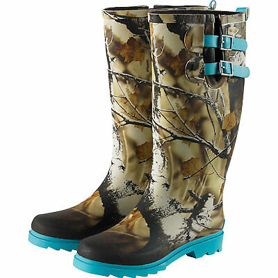 Legendary Whitetails Women's Big Game Camo Storm Chaser Rain Boots