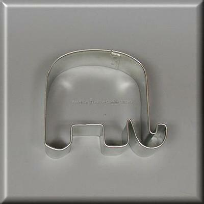 """3.25"""" Elephant Metal Cookie Cutter Baby Election #na6065"""