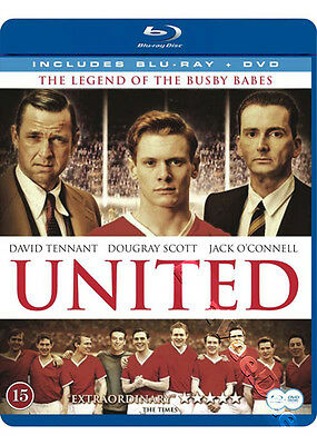 United NEW Cult Blu-Ray Disc James Strong D. Tennant Dougray Scott J. O'Connell