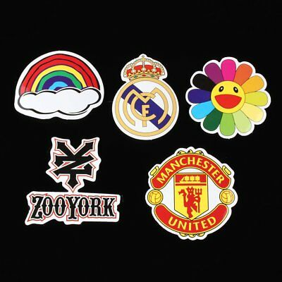 50 Pieces Stickers Skateboard Sticker Laptop Luggage Bike Decals mix Lot