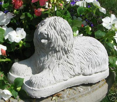 Concrete Old English Sheep Dog Statue/ Monument