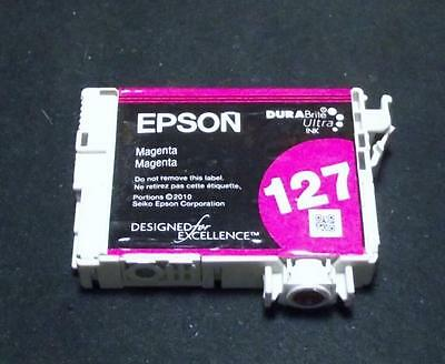 Epson-T1273-Empty High Capacity #127 Magenta Ink Cartridge for Workforce Printer