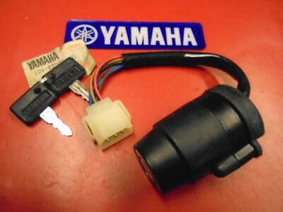 Yamaha Nos Dt125Lc Main Ignition Switch And Keys Pt.no 10V-82508-20