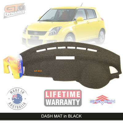 DASH MAT Suzuki Swift RS Sport GL ALL Models Feb/2005-Dec/2010 DM971 Charcoal