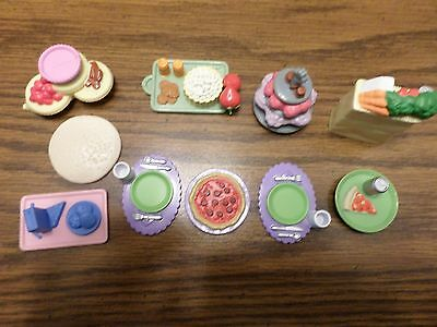 Loving Family Assorted Food Trays and Dinner Place Settings Total of 10