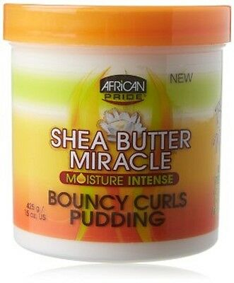 AFRICAN PRIDE Shea Butter Miracle MOISTURE INTENSE BOUNCY CURLS PUDDING- 425g
