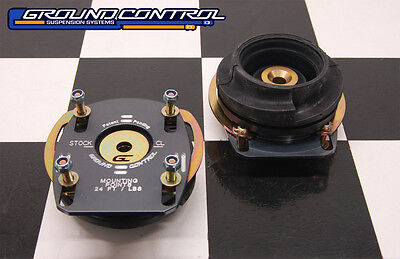 Ground Control - 10-14 Ford Mustang - Camber/Caster Plates - (PAIR) - (NEW)
