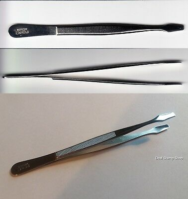 PRINZ Stamp Tweezers 1 x Spade 120mm - FREEPOST