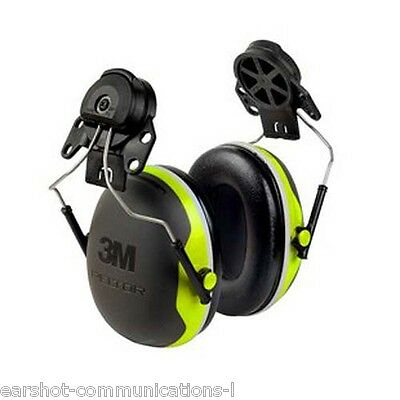 3M Peltor X4P3E Series Ear Defender Helmet Attachment Version Brand New Boxed