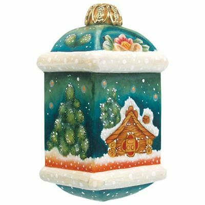 G. DeBrekht | Little Cottage Ornament *NEW IN BOX* *RARE* Designed In Russia