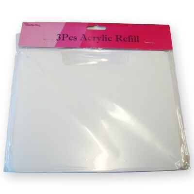 Crafts-Too 3 Piece Acrylic Refill Set for Magnetic Die Storage Case CT26011B