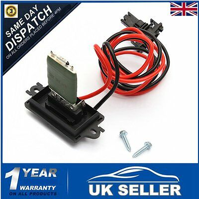 Heater/Blower Resistor MOTOR for Renault Megane Scenic/Grand MK II 2 7701207876