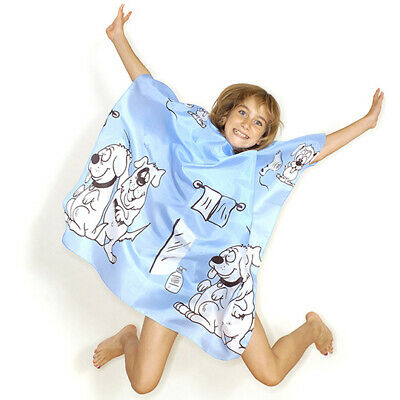 Hair Tools Children's Doggy Hair Gown Blue