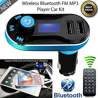 Bluetooth FM Transmitter Car Kit MP3 Music Player Wireless Radio With USB Port