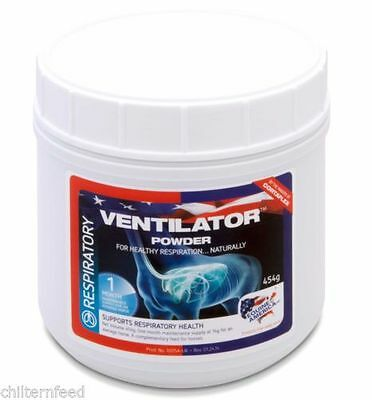 Equine America Ventilator 454g.  For horses with breathing problems.