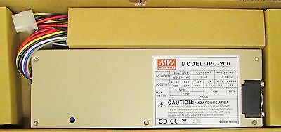 MW MEAN WELL Model ICP-200 AC In 100-240 VAC DC Out 3.3-12V Power Supply ICP 200