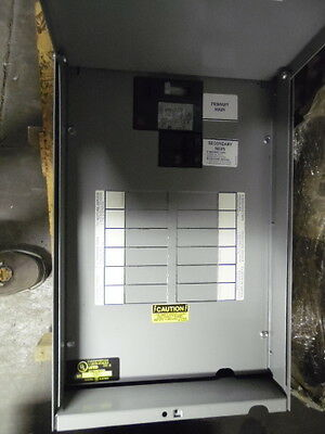 New GE 9T21S1150 15 KVA 480 120/240V 1 Phase Mini Unit Substation
