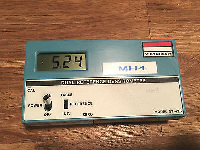 Victoreen Dual Reference Densitometer Model 07-423
