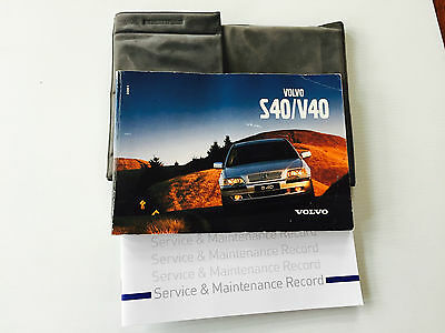 VOLVO S40 AND V40 SERVICE BOOK HANDBOOK MANUAL & WALLET PACK 1996 To 2005