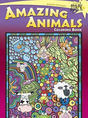 Spark Amazing Animals Coloring Book by Susan Shaw-Russell (English) Paperback Bo