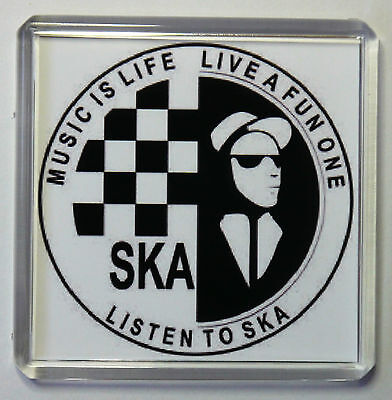 SKA- Ska Music Is Life Large Fridge Magnet FREE POSTAGE