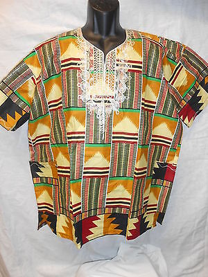 Handmade Traditional Africa Dashiki Shirt Ltd Edition One Off Roots & Culture 17