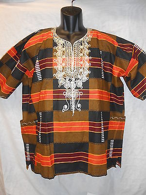 Handmade Traditional Africa Dashiki Shirt Ltd Edition One Off Roots & Culture 18