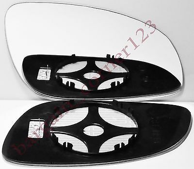 Right Driver Side Wing Mirror Glass HEATED Vauxhall Vectra C 2002-20081