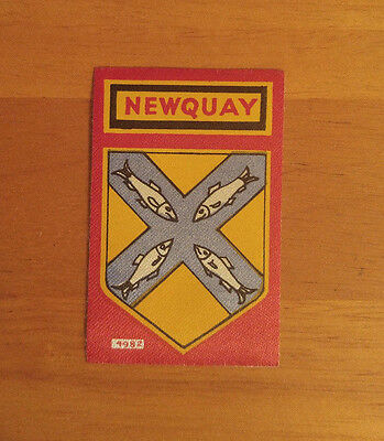 Newquay England UK Self-Adhesive or Sew-On Patch Crest Badge