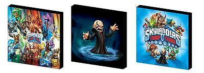 Trap Team Skylanders Canvas  Art Blocks/ Wall Art Plaques/pictures