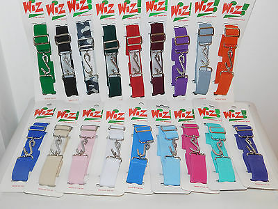 Brand New Wiz Kids Childrens Adjustable Snake Belt All Colours Girls Boys Belt