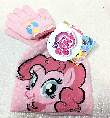 My Little Pony Mio Mini Pony Set Cappello E Guanti Hat And Gloves Rosa Pink